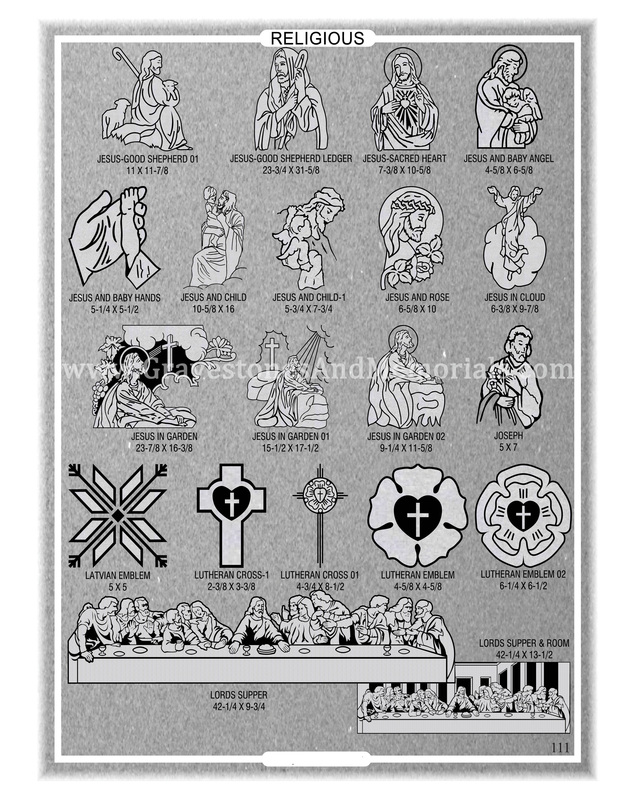 Religious Emblems Gravestones And Memorials Quality