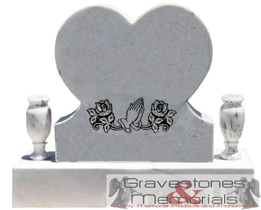 6830gm Heart Shaped Headstone Gravestones And Memorials