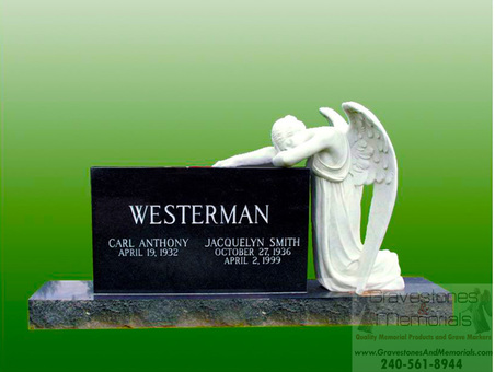 Sd 5462 Weeping Angel Monument Gravestones And Memorials